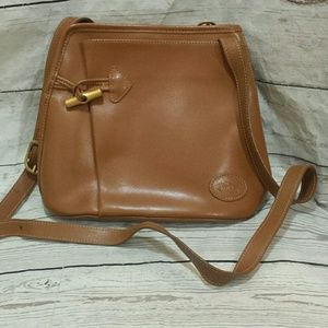Longchamp Roseau Tan Satchel Shoulder Bag